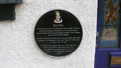 Photo of Francis Webster black plaque