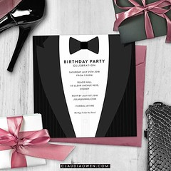 Celebrate in style. I designed this card for @greenvelope #partysupplies #party