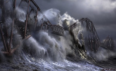 Stolen Wave and Forth Bridge