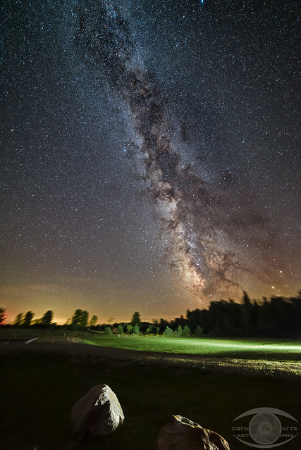 Milky Way shot at the North Frontenac Dark Sky Preserve