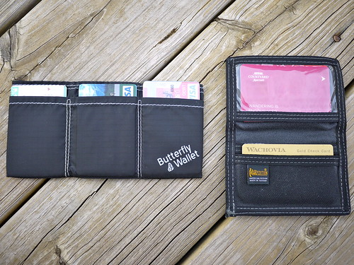 Butterfly Wallet (left)
