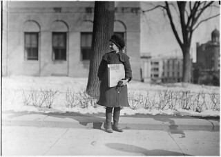 Dora Nevins, 12 years old. Been selling 1 year. Hartford, Conn, March 1909