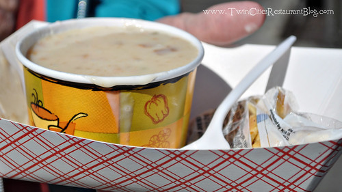 Clam Chowder at Guardini's ~ San Francisco, MN
