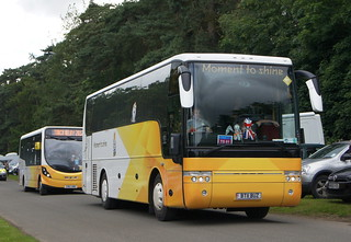 Olympic Torch relay vehicles through Sandringham (c) David Bell