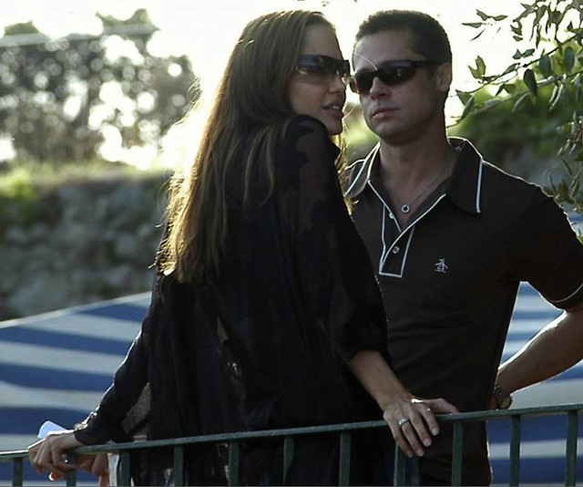 Brad Pitt and Angelina