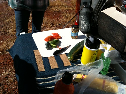 Tailgate Lunch between Roebourn and Whim Creek
