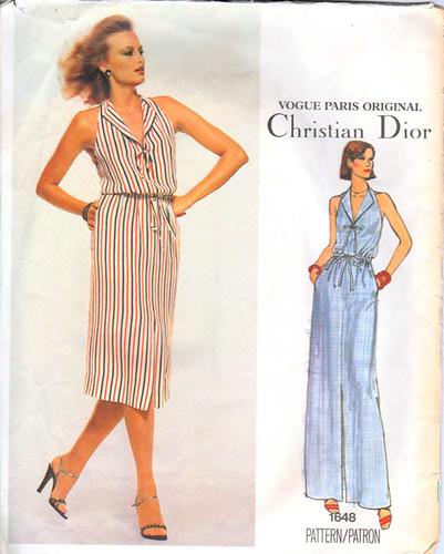 Vogue1648 vintage Dior