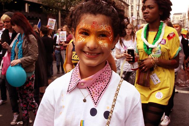 World Pride 2012 de Londres: des sourires et des hommes