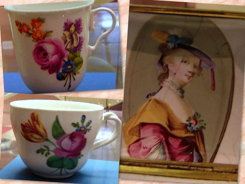 antique cups by Anna Amnell