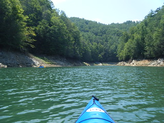 Approaching Bear Camp Creek
