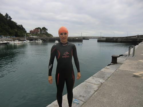 Neopreno de natación de mujer: Sealfish attack