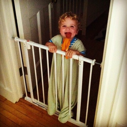 """Climb crib!"""