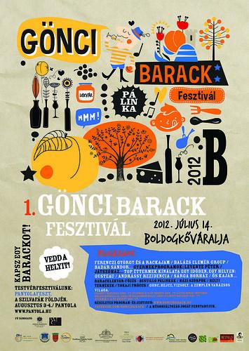 I. Gönci barack fesztivál