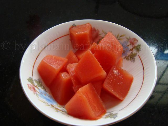 tomato cubes