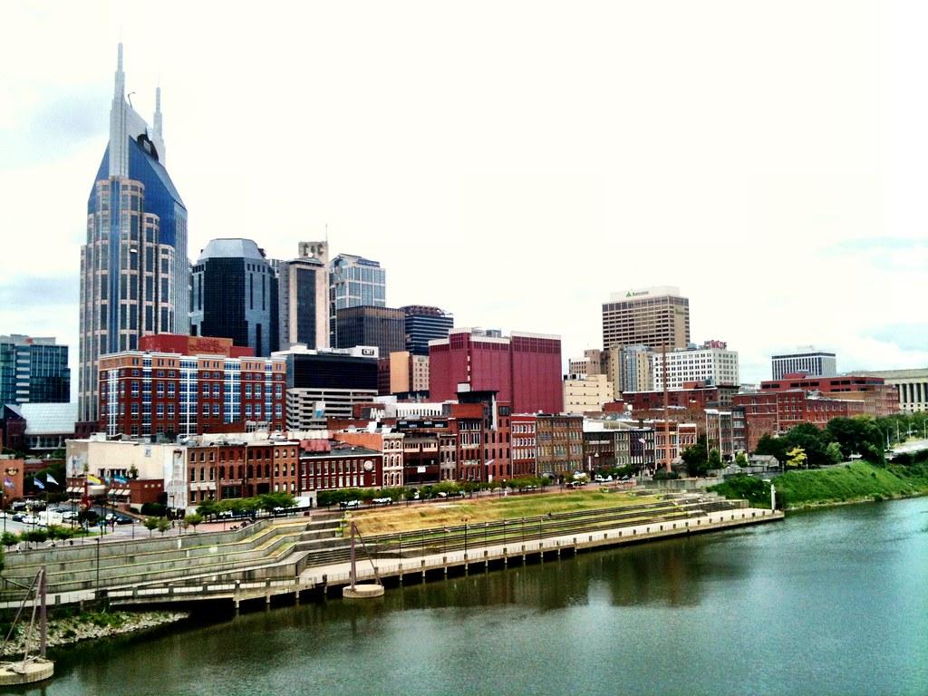 Nashville riverfront.
