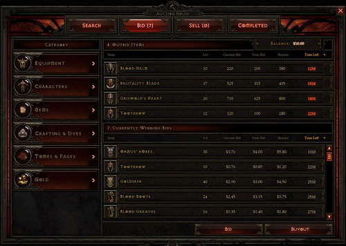 Diablo 3 Introduces Commodity Trading On The Real Money Auction House