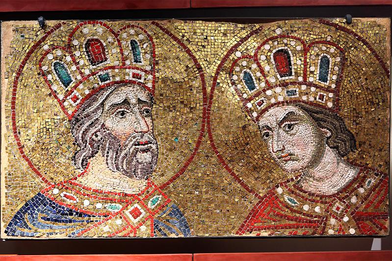 Kingly mosaic