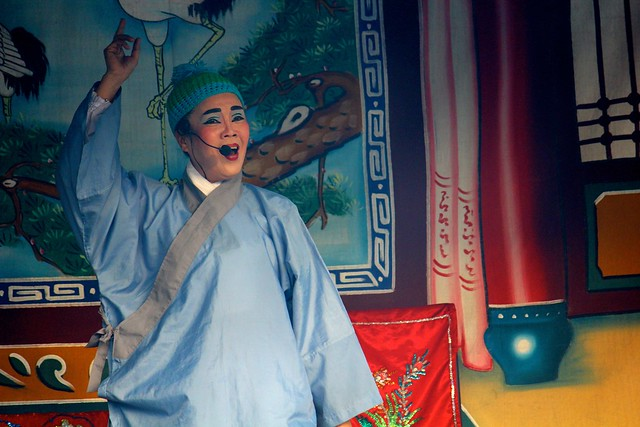 Chinese Opera At Kuan Yim Teng