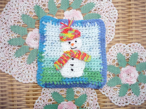 'Snowman Challenge' thank you very much creativegranny!