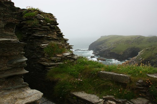 View of the sea from Tintagel
