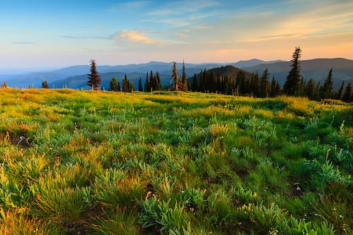 Sunset on Freezeout Ridge