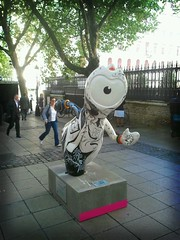 Olympic Mascot sculpture