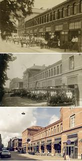 Gothenburg, Linnestaden 1902 / 1922 / 2012