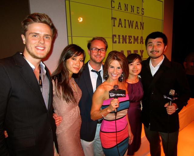 Lynn Maggio, Simon Hung, Mr. Monster Movie, Cannes Taiwan Cinema Party 2012