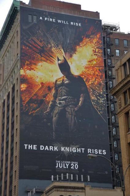 Incrível pintura de Batman: O Cavaleiro das Trevas Ressurge