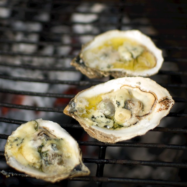 Grilling Scotch Oysters