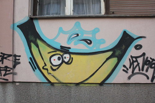 Banana Graffiti by Stimpdawg