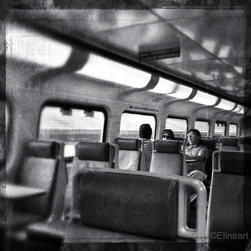 22:365 On The Train by elineart