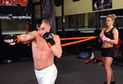 bodypump(0.0), weight training(0.0), professional boxing(0.0), muay thai(0.0), shoot boxing(0.0), kickboxing(0.0), sanshou(0.0), wrestler(0.0), amateur boxing(0.0), arm(1.0), chest(1.0), individual sports(1.0), contact sport(1.0), sports(1.0), combat sport(1.0), martial arts(1.0), muscle(1.0), punch(1.0), physical fitness(1.0),