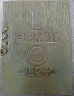 Cover - Furman Class of 1924