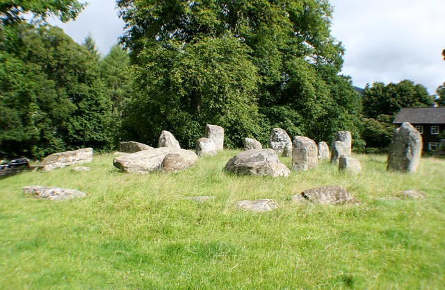 Croft Moraig Stone Circle, Aberfeldy
