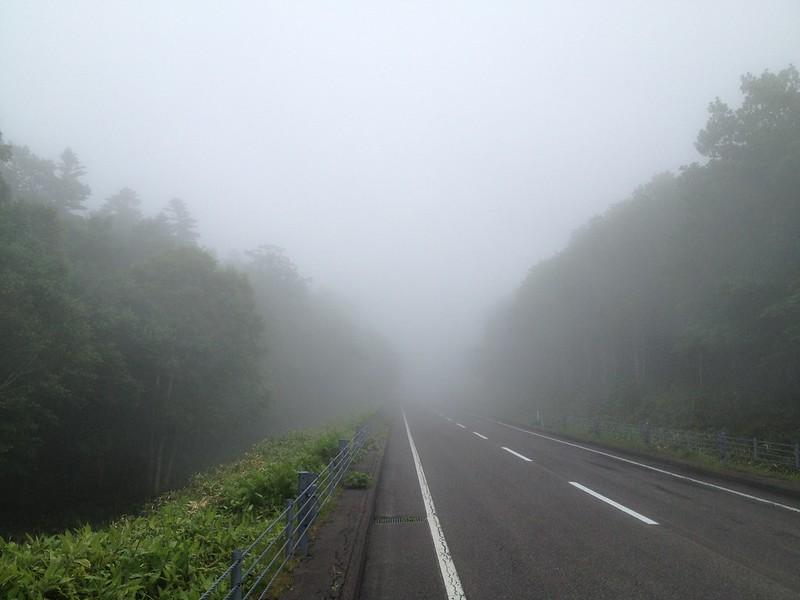 知床で霧 その2
