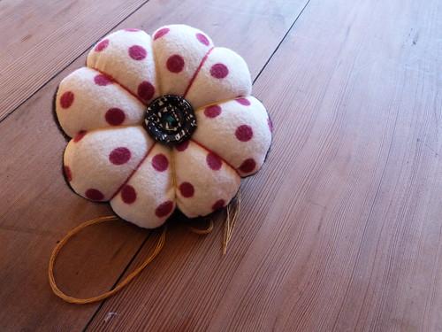 Pincushion + Custom Pins, Backside