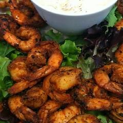 saburba shrimp dish