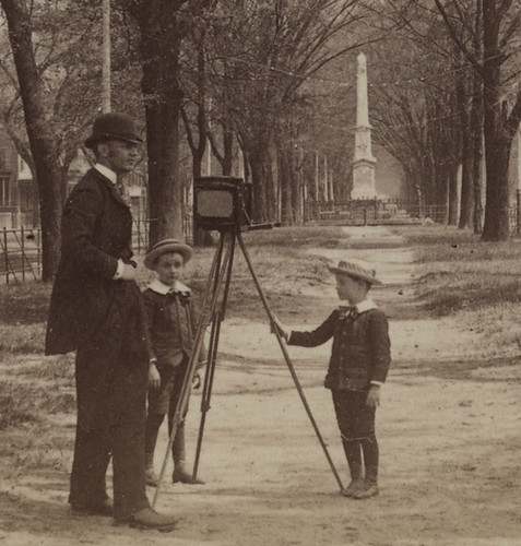 Detail of Photographer with View Camera by Photo_History
