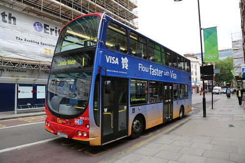 Visa Double Decker Bus