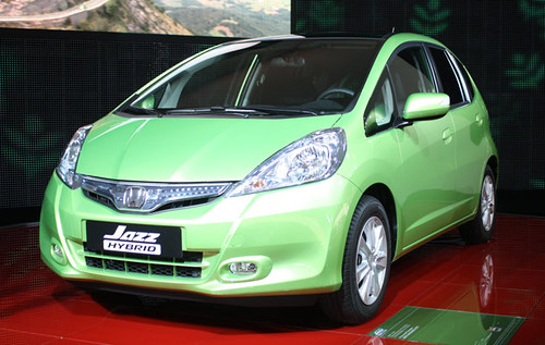 Jazz Hybrid: Version Hibrida del Honda Jazz