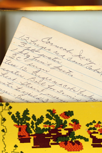 Grandma Nelson's corn cob jelly recipe