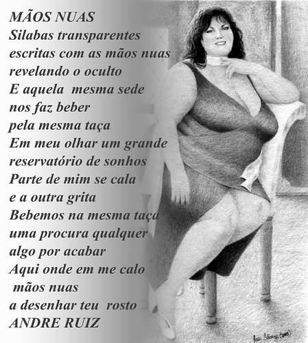 MÃOS NUAS by amigos do poeta