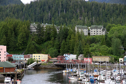 Ketchikan - Creek Street From Ship
