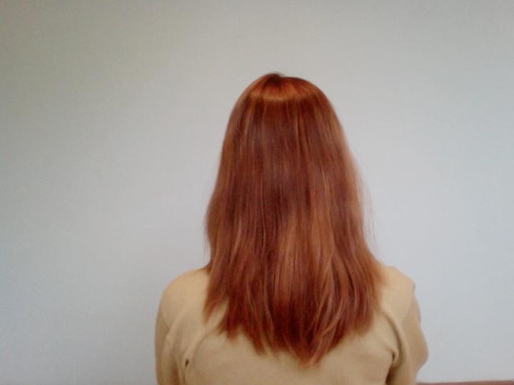 straight hair a