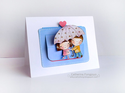 Mimi and Miles slider card