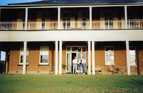 At Hambledon Hill House in 2002