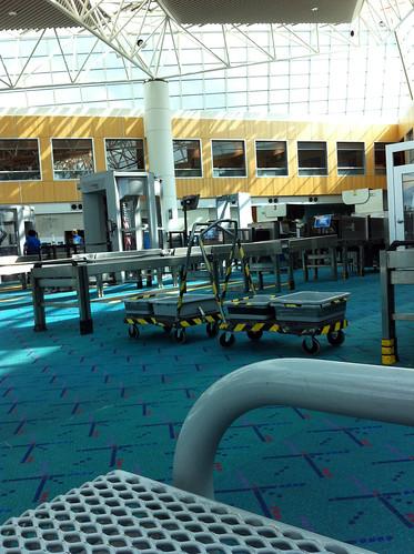 Portland Airport - TSA Zone