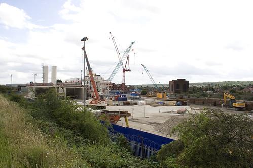 Plumstead Portal Construction Site