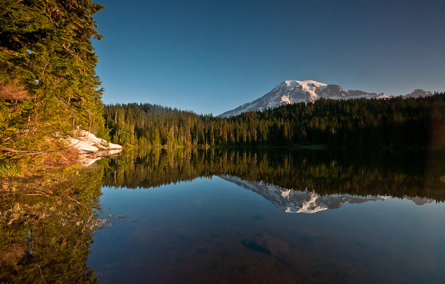 Reflection Lake Landscape